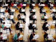 School exam, PA