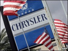 Chrysler sign