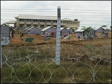 Sri Lanka displaced camp