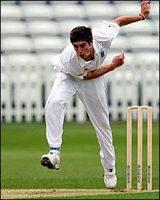 Warwickshire seamer Chris Woakes