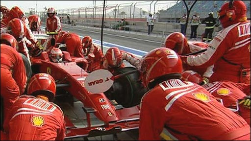 F1 pit-stop