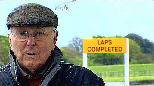 Formula 1 expert Murray Walker