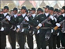 Iran's Revolutionary Guard. File photo