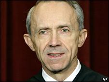 Justice David Souter (file image)
