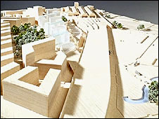 Model of the planned Mayfield site