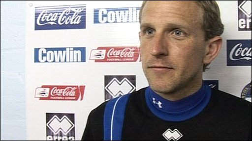 Bristol Rovers first-team coach Paul Trollope