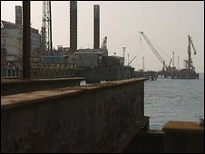 Khaw Al Amaya oil terminal