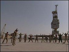 Iraqi Marines training