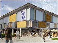 Proposed redevelopment