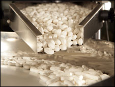 Drugs being manufactured