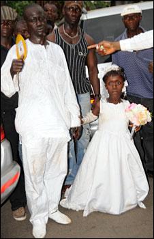 Masire Kamara and her husband Mohammed Basiru Alghali