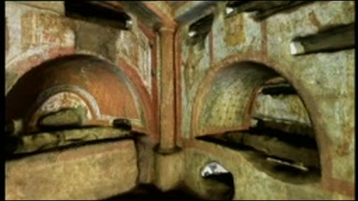A 3D look at Rome's catacombs
