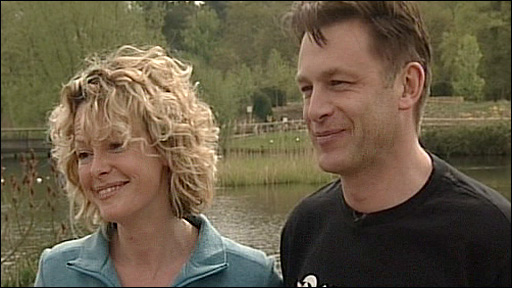 Kate Humble and Chris Packham