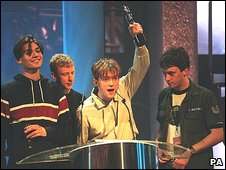 Blur at the Brit Awards