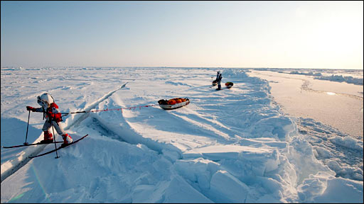 Explorer in Arctic (Martin Hartley)