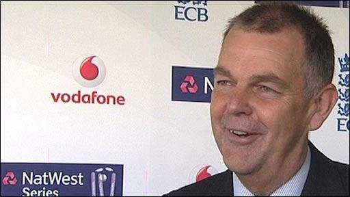 England selector Geoff Miller