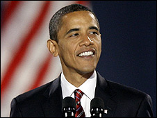Barack Obama wins the US elections