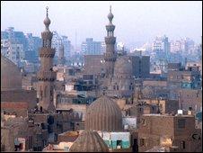 Skyline of Cairo