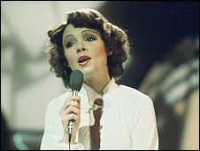 Dana performing in 1970