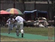 Ditchling CC play an Afghan XI