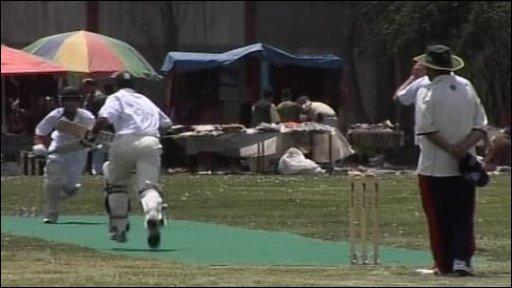 Ditchling CC plays Afghan XI
