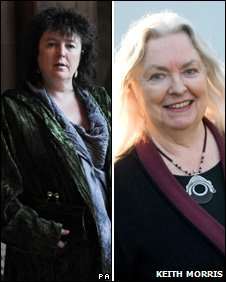 Carol Ann Duffy and Gillian Clarke