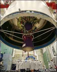 Ariane 5 upper stage (EADS Astrium)