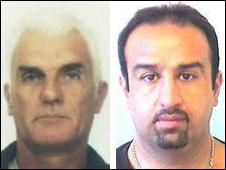 Alan Austin (l) and Jafar Hajebrahi