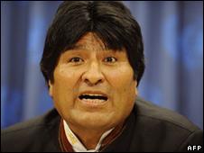 Evo Morales (file image)