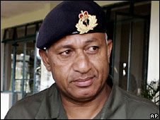 Frank Bainimarama (file photo)