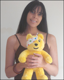 Mrs Pudsey Bear