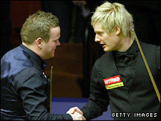 Shaun Murphy and Neil Robertson
