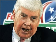 Former US Congressman Jack Kemp (file photo, August 2006)