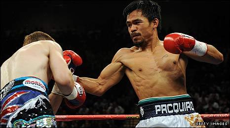 Ricky Hatton v Manny Pacquiao