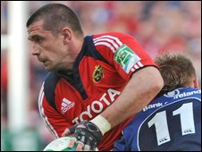 Alan Quinlan and Luke Fitzgerald