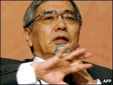 Asian Development Bank (ADB) president, Haruhiko Kuroda