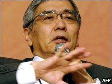 Asian Development Bank (ADB) president, Haruhiko Kuroda