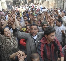 Pig farmers clash with health officials north of Cairo - photo 2 May