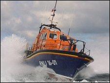 Tamar class lifeboat. Pic: RNLI