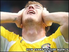 Cardiff striker Ross McCormack shows his despair after defeat at Sheffield Wednesday