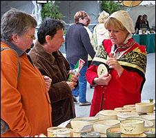 Camembert stall