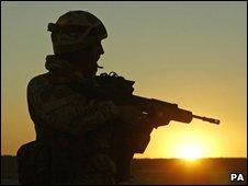 British soldier - generic