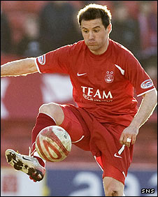 Aberdeen midfielder Jamie Smith