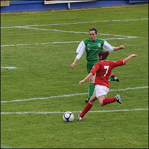 Football: Ladies Muratti 2009 - Guernsey v Jersey