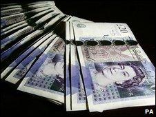 £20 notes - generic