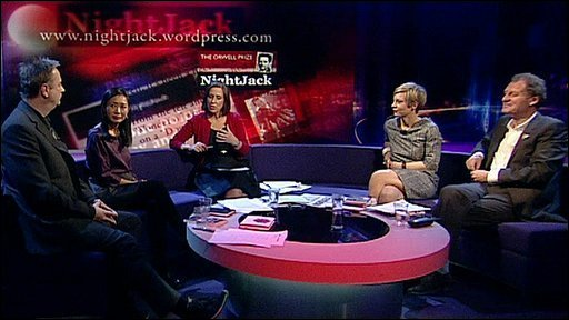 Paul Morley, Diane Wei Liang, Kirsty Wark, Miranda Sawyer, and Andrew Motion
