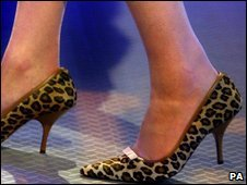 Theresa May shoes