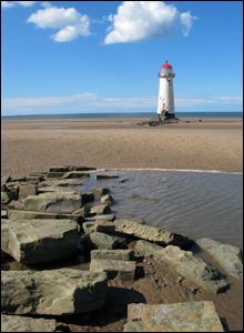 John Williams took this shot of Talacre lighthouse while out walking along the beach from Prestatyn to Talacre