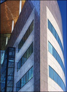 Office building in Cardiff Bay (Roger Lavery)