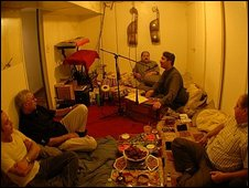 Pashtu musicians in New York